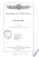 Isabel S Secret Or A Sister S Love By The Author Of The Story Of A Happy Little Girl
