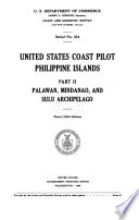 United States Coast Pilot  Palawan  Mindanao  and Sulu Archipelago Book