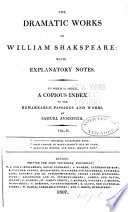 The Dramatic Works of William Shakepeare