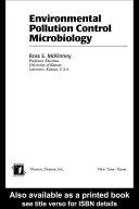 Environmental Pollution Control Microbiology