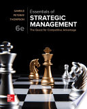 Loose-Leaf Essentials of Strategic Management