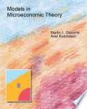 Models In Microeconomic Theory He Edition