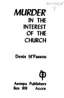Murder in the Interest of the Church