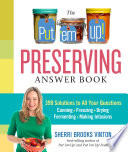 The Put Em Up Preserving Answer Book Book