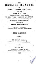 The English Reader, Or, Pieces in Prose and Verse