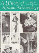 A History of African Archaeology