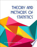 Theory And Methods Of Statistics