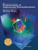 Fundamentals of Engineering Thermodynamics Book