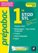 Pdf Prépabac 1re STI2D/STL - Toutes les matières générales - Cours et contrôle continu Telecharger