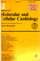 Journal of molecular and cell cardiology