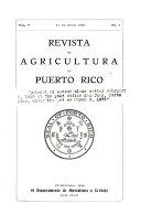 Revista de agricultura de Puerto Rico
