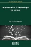 Pdf Introduction à la linguistique de corpus Telecharger