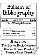 Bulletin of Bibliography