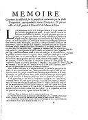 Mémoire contenant des difficultés sur propositions condamnées par la Bulle Unigenitus, qui regard les Théologales et sur tout celles où il est parlé de la Charité et de l'Amour de Dieu