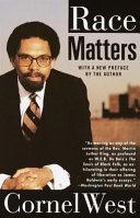 Race Matters Book