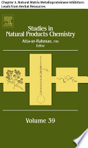 Studies In Natural Products Chemistry Book PDF