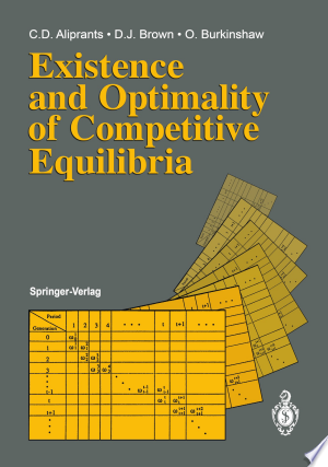 Download Existence and Optimality of Competitive Equilibria Free Books - Dlebooks.net
