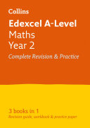 Edexcel Maths A level Year 2 All in One Complete Revision and Practice  For the 2020 Autumn   2021 Summer Exams  Collins A level Revision