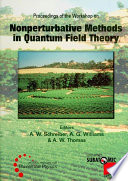 Nonperturbative Methods In Quantum Field Theory   Proceedings Of The Workshop