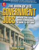 The Book of U.S. Government Jobs