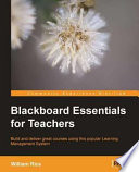 Blackboard Essentials for Teachers