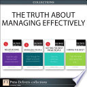 The Truth About Managing Effectively  Collection  Book