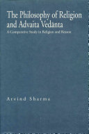 The Philosophy of Religion and Advaita Vedānta