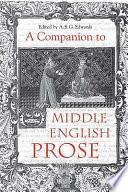 A Companion To Middle English Hagiography [Pdf/ePub] eBook