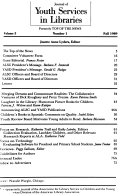 Pdf Journal of Youth Services in Libraries