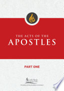 The Acts of the Apostles  Part One
