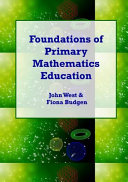 Cover of Foundations of Primary Mathematics Education