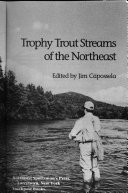 Trophy Trout Streams of the Northeast