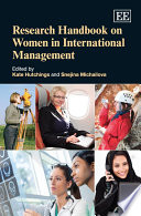 Research Handbook On Women In International Management