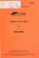 Australian Official Journal Of Trade Marks