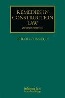 Remedies in Construction Law Pdf/ePub eBook