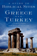 A Guide to Biblical Sites in Greece and Turkey ebook