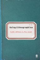 Doing Ethnographies [Pdf/ePub] eBook
