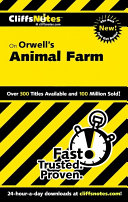 Cliffsnotes On Orwell S Animal Farm