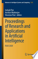 Proceedings of Research and Applications in Artificial Intelligence