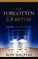 Pdf The Forgotten Scripture