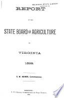 Annual Reports of Officers  Boards and Institutions of the Commonwealth of Virginia
