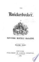 The Knickerbocker; Or, New-York Monthly Magazine