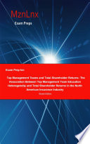 Exam Prep For Top Management Teams And Total Shareholder