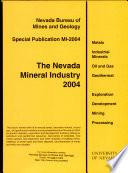 Mi2004 The Nevada Mineral Industry 2004