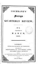 Cochrane's Foreign Quarterly Review