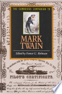 The Cambridge Companion to Mark Twain