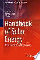 Handbook of Solar Energy