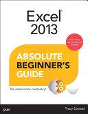 Excel 2013 Absolute Beginner's Guide