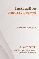 Instruction Shall Go Forth