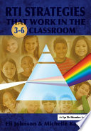 RTI Strategies that Work in the 3 6 Classroom Book